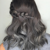 Thumbnail image for 25 Cool Black And Grey Hair Color Ideas