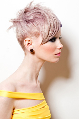 lavender hair color