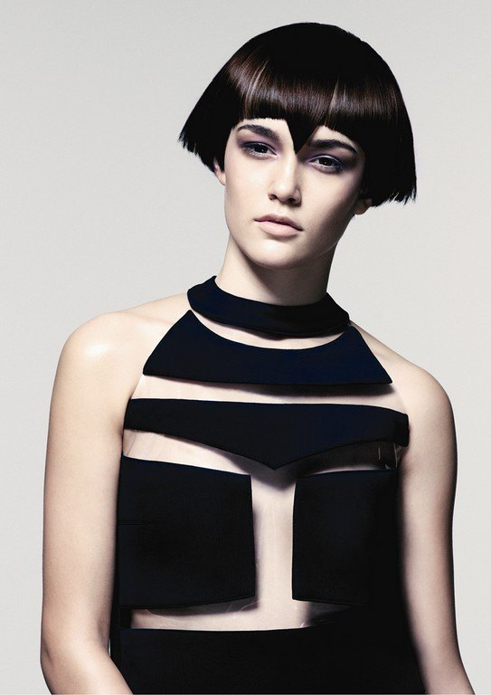 vidal sasson bob cut