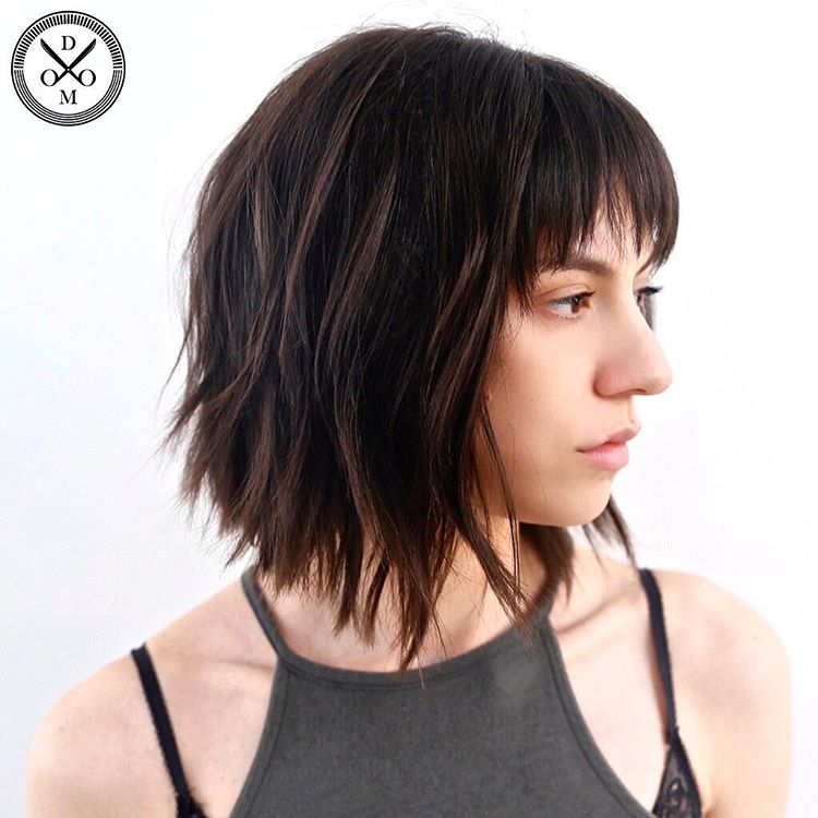 30 Edgy Medium Length Haircuts For Thick Hair August 2018