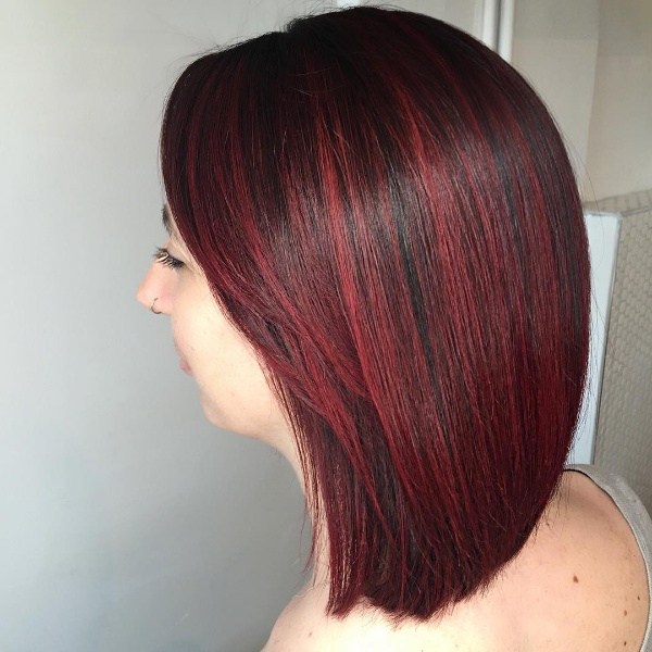Top 25 red and black ombrehighlights hair color ideas black and red ombre hair pmusecretfo Choice Image