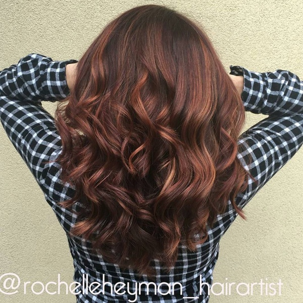 Top 25 red and black ombrehighlights hair color ideas black hair with red highlights pmusecretfo Choice Image