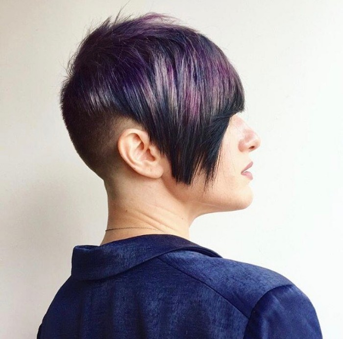 undercut hair women