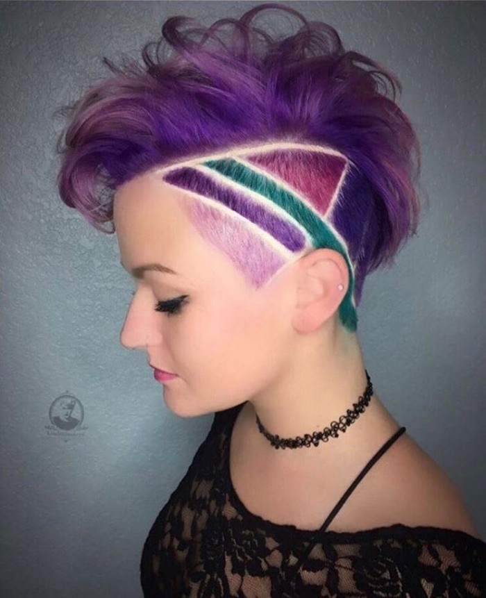 30 Trending Female Undercut Hairstyles For Any Face Shape