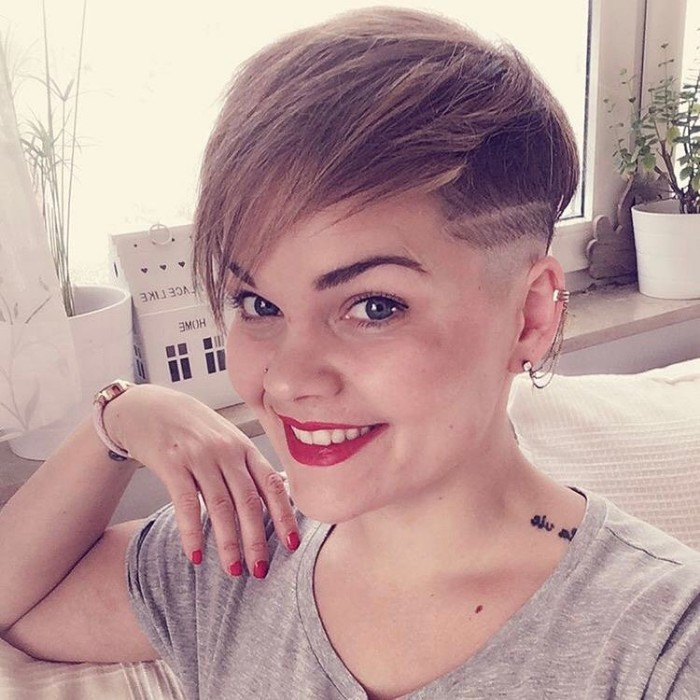 undercut hairstyle women