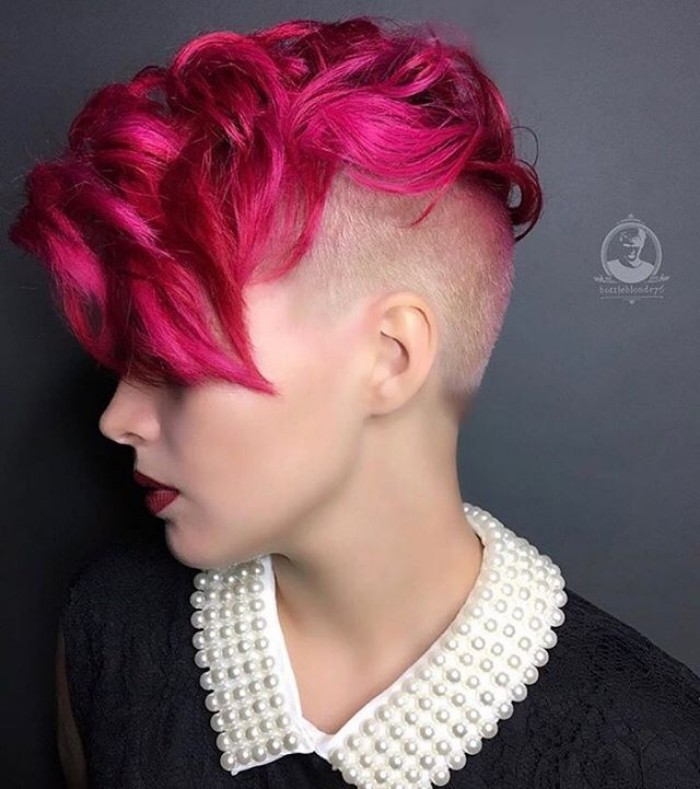 undercut hairstyle female