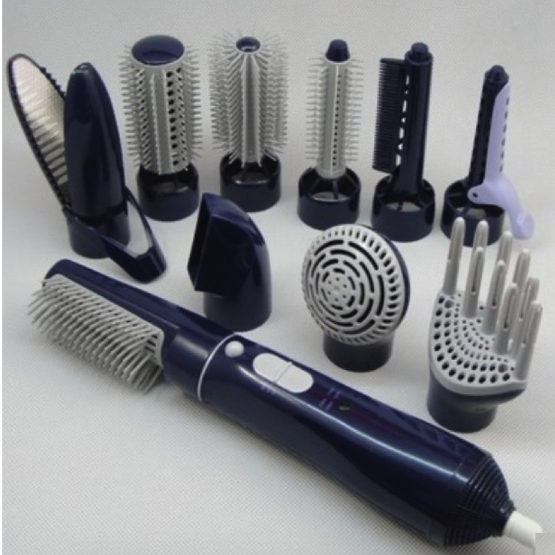 Hair Dryer With Brush