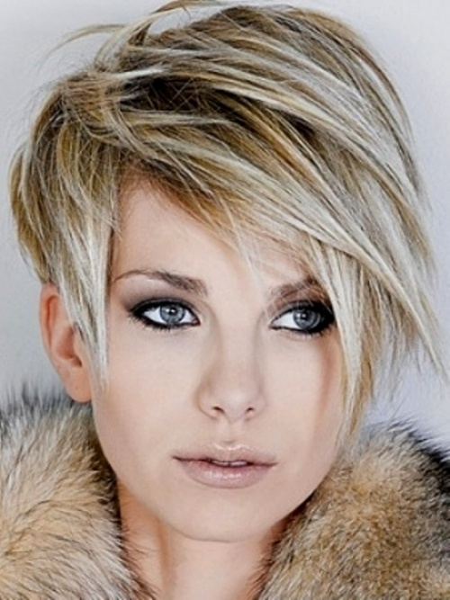 Long Layered Short Bob