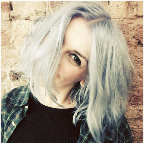 ghostly hair color