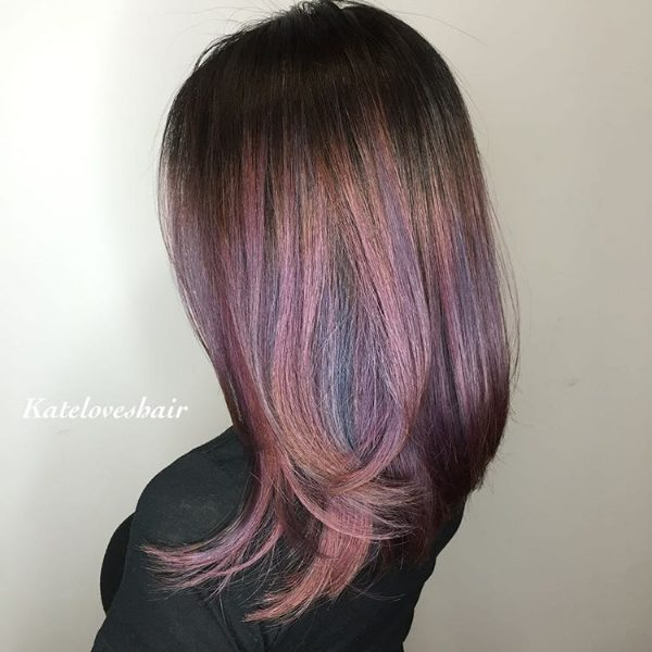 ombre on black hair