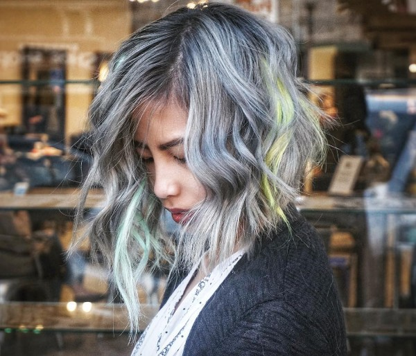 25 Cool Black And Grey Hair Color Ideas Trendy Now