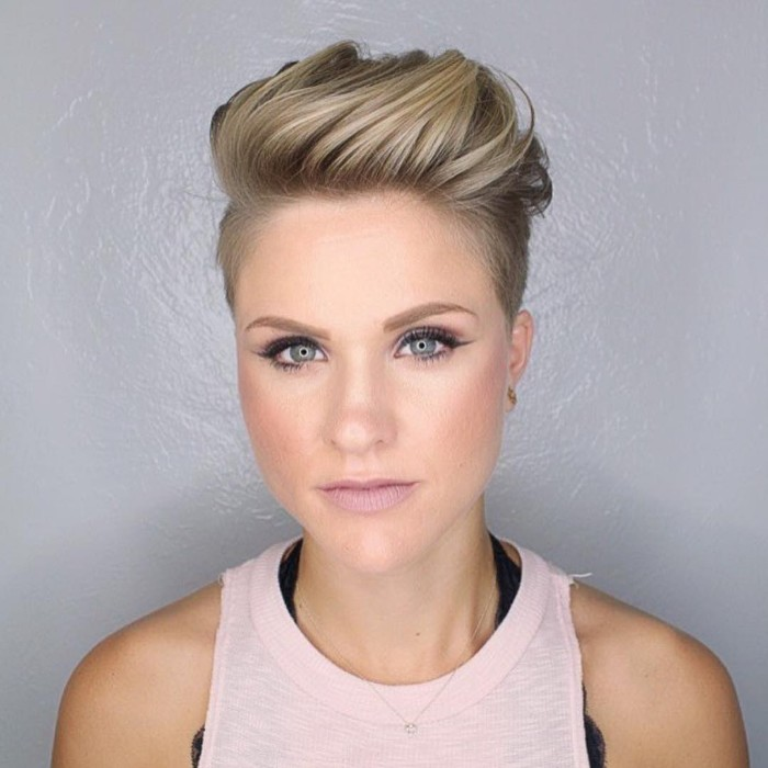 30 Female Undercut Hairstyles For Any Face Shape October 2018