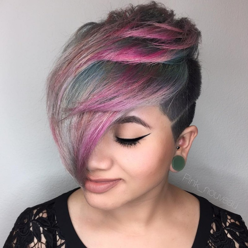 25 Edgy Pixie Undercut Ideas To Try Right Now January 2019