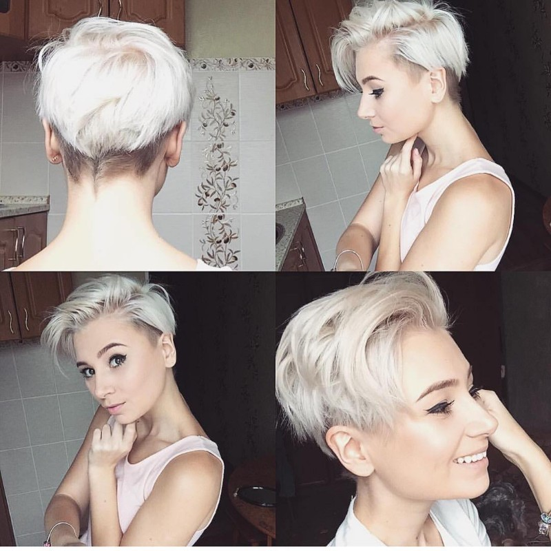25 Edgy Pixie Undercut Ideas To Try Right Now October 2018