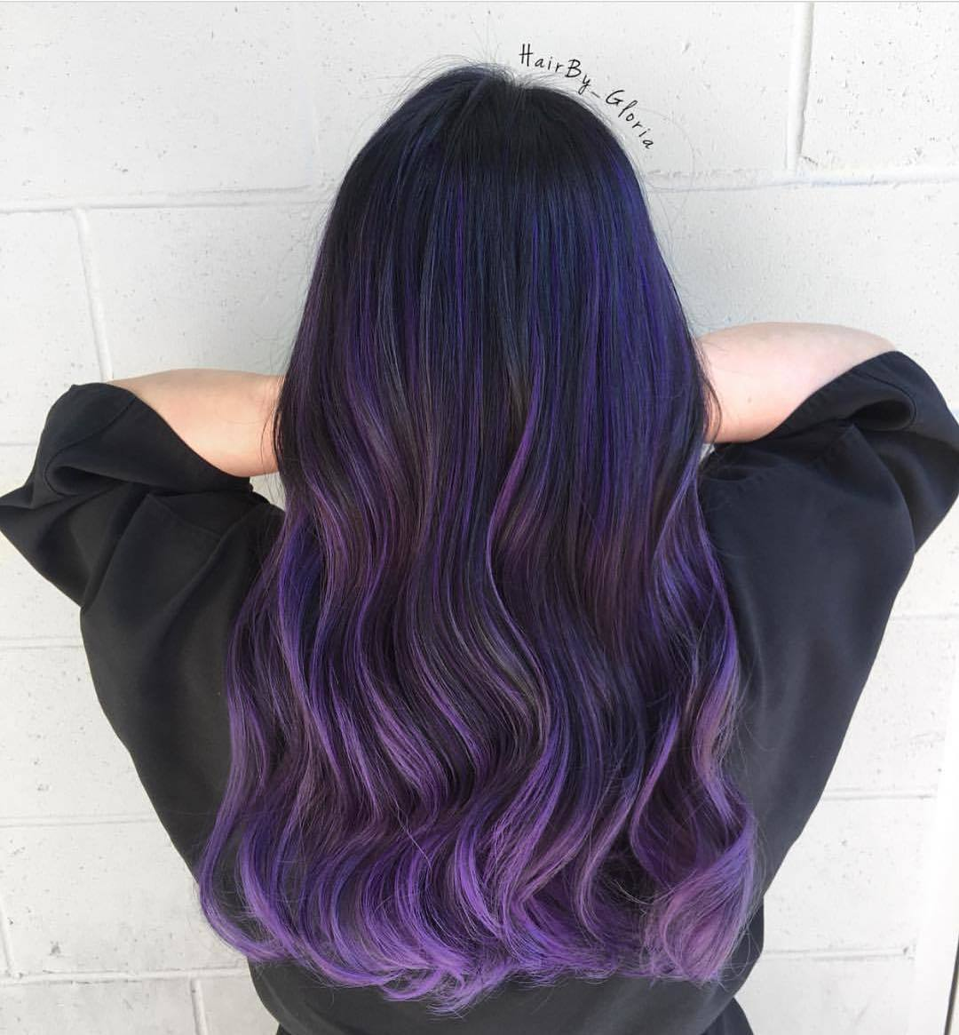 50 Great Purple Ombre Trends Of 2018 Plum Lilac Lavender Violet