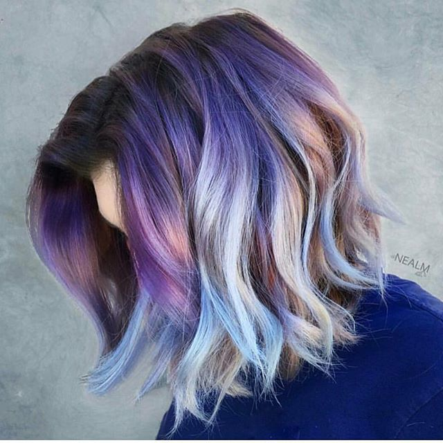 50 Great Purple Ombre Trends Of 2018 Plum Lilac Lavender