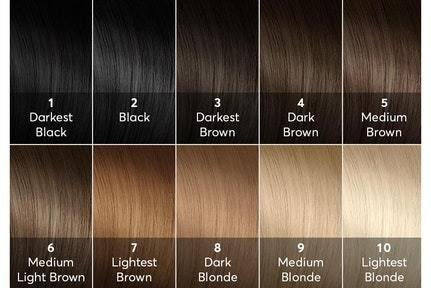 If You Have Black Dark Brown Or Hair 1 5 Level On A Color Chart Purple Dye Which Often Comes In Semi Permanent Toner Form